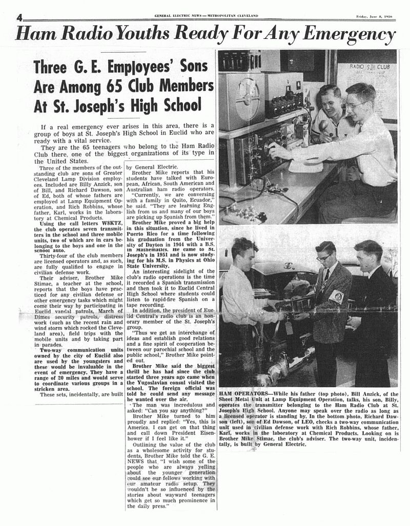 GE News Friday June 8, 1956
